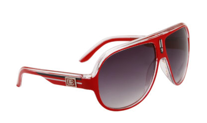 DE Stunnas Sporty Clear Red White and Black