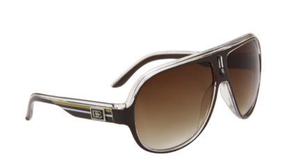 DE Stunnas Sporty Clear Brown Gold and White