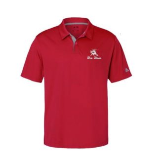 Reo Wear Golf Gradient Adidas Polo Sport Shirt Red