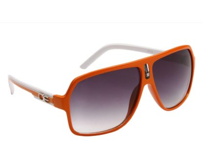 DE Stunnas Two Tone Temples Orange and White