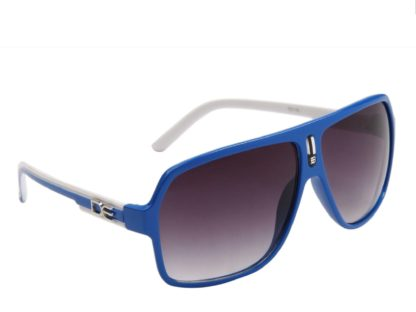 DE Stunnas Two Tone Temples Blue and White